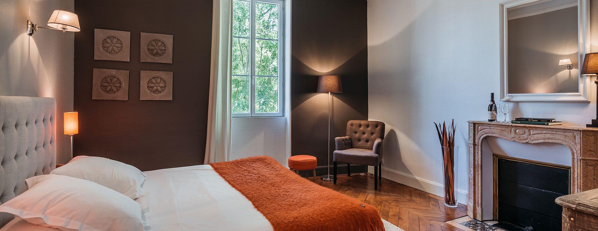 Chambre hôtel supérieure à Pommard