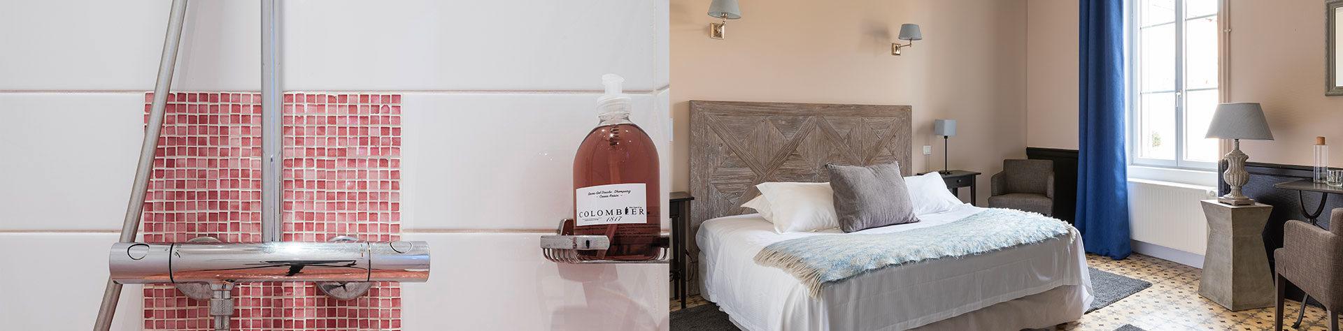 Chambres traditions Hôtel Clos du Colombier