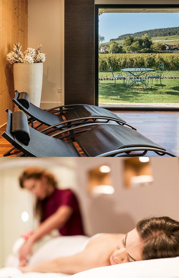 Hôtel SPA avec massages